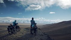 WE ARE TRAVELING - Teaser. 18.000 kilometers, 10 month, 15 countries, two cyclists and one aim: Asia!  From Germany to China by bike.