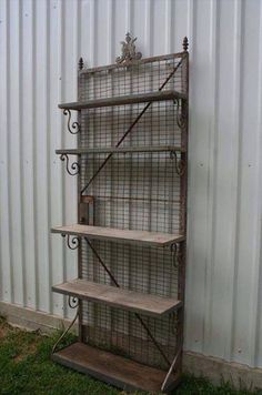 shelving from baby bed mattress springs