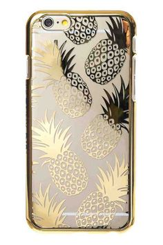 iPhone 6 Gold Pineapple Case
