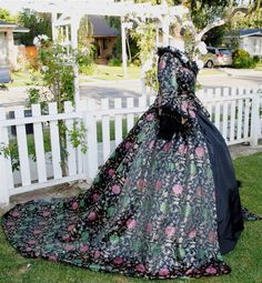Gothic Brocade Marie Antoinette Fantasy Gown or by RomanticThreads, $895.00