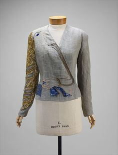 Elsa Schiaparelli, Retro Mode, Mode Vintage, Textiles, 1930s Fashion, Vintage Fashion, 20th Century Fashion, Lesage, Italian Fashion Designers