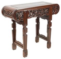 View this item and discover similar for sale at - A good quality late century Chinese hardwood alter table. Chinese Furniture, Oriental Furniture, Antique Furniture, Chinese Table, Consoles, Victorian Bed, Nesting Tables, Windows And Doors, Home Interior Design