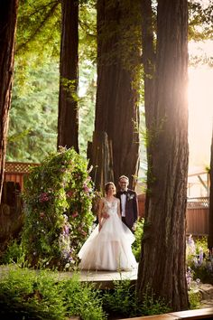 Photographer: Magnolia Weddings | Ceremony Location: Felton Guild | Floral Designer: Le Bloomerie |Submitted via Two Bright Lights Wedding Pics, Wedding Ceremony, Wedding Day, Romantic Weddings, Destination Weddings, Magnolia Wedding, Redwood Forest, Strictly Weddings, Woodland Wedding
