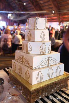 art deco wedding reception details Fayetteville, AR Benfield Photography