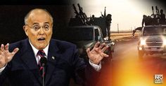 """GIULIANI: CLINTON A """"FOUNDING MEMBER"""" OF ISIS The Islamic State is a creation of the Pentagon and the CIA"""