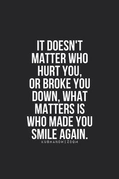 broken, kushandwizdom, love, quote, quotes, smile, happy again