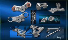 BMW R nineT - Design Sketches