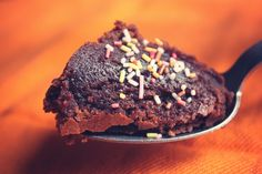 #brownies tout chaud au #chocolat [Mango and salt]