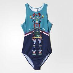Adidas Originals Women's Mary Katrantzou Bodysuit  #adidas #BodySuit
