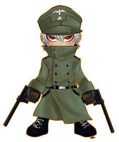 Captain Hans chibi