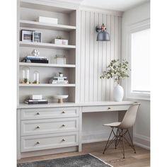 Home Office Space, Office Workspace, Home Office Design, Home Office Decor, House Design, Home Decor, Office Ideas, Office Setup, Office Organization