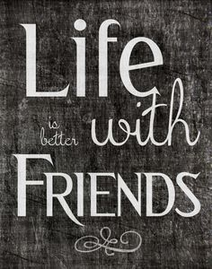 Friend Inspiration Quote Printable Download by LondonBoulevard, $5.50