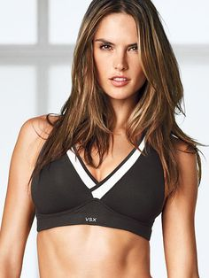 46bae8ae63d71 Victoria Secret - VS Sport - VS Runway Sport Bra - Color  Black White