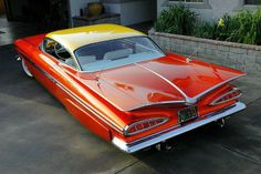 1959 chevy impala maintenance of old vehicles the material for new cogs casters classic car dreams classic cars chevroletchevelleclassiccars Ferrari, Rat Rods, Vintage Cars, Antique Cars, Moto Design, 1959 Chevy Impala, Bmw M Power, Bmw Classic Cars, Classic Auto