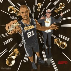 Mo Wins, Mo RINGS.  The San Antonio Spurs are decked out in bling after capturing their 5th NBA title.