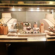 Stephen Dweck jewelry, including one of a kind (OAK) pieces, on display in the jewelry department in Bergdorf Goodman.  http://instagram.com/stephendweckjewelry