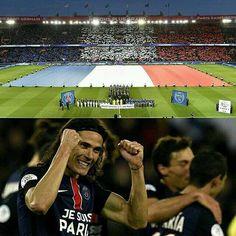 El PSG goleó al Troyes 4-1 en un partido que empezó con un lindo homenaje a las víctimas de los atentados en París.  Los goles llegaron de parte de Cavani (20') Ibrahimovic (58') Kurzawa (67') y Augustin (84').