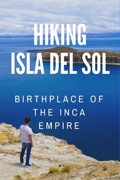 Explore the Isla del Sol in Bolivia - Birthplace of the Inca Empire. Expansive views over lake Titicaca and nearby Peru with it's floating island - Be amazed at this ancient culture and island, vivid colour, and all possible on a day trip from Copacabana and the nearby Bolivia / Peru boarder crossed! ☆☆ Travel Guide / Bucket List Ideas Before I Die By #Inspiredbymaps ☆☆