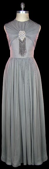 Dress - 1930s. The Frock. http://omgthatdress.tumblr.com/post/144606294187/dress-1930s-the-frock