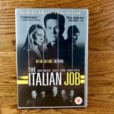 The Italian Job Dvd Wahlberg Theron Statham Norton special collectors edition Dvds For Sale, The Italian Job, Edward Norton, Jason Statham, Mark Wahlberg, Charlize Theron, Film, Movie, Film Stock