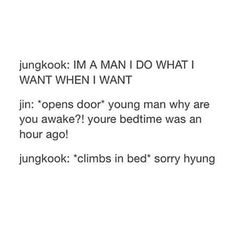 That sums up Jungkook's life