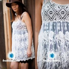 The KEARNEY lace Boho dress - CREAM HP 4/2Boho Chic meets baby doll! BAM! Magic! Super sweet! I am modeling with my dress extender in black, also available for SALE. ‼️NO TRADE‼️ Dresses