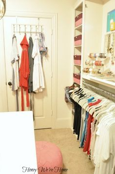 "Organized ""Boutique"" Closet // Honey We're Home"