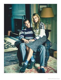 Love You in the Fall–Things get romantic for the October issue of Marie Claire…