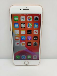 Apple iPhone 8 GOLD 256GB Verizon T-Mobile AT&T Sprint GSM Unlocked Smartphone Iphone 8, Apple Iphone, Smartphone, Gold, Yellow