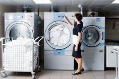 hotel laundry - Google Search Pickup And Delivery Service, Woodland Hills, San Fernando, Laundry Service, Booth Design, Pick Up, Maid, Washing Machine, Cheer