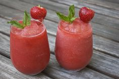 Basil Berry Daiquiri Recipe   Hosting & Toasting