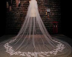 Vintage perlas velo en velo de novia novia boda velo por Coverfront