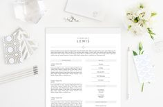 Photographer Resume Template Word Psd Format
