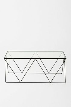 Magical Thinking Diamond Coffee Table - Urban Outfitters the Border Collie Design Furniture, Furniture Decor, Simple Furniture, Furniture Shopping, Wooden Furniture, Coffee Table Urban Outfitters, Magical Thinking, Sofa Shop, Apartment Furniture