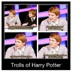 These Harry Potter Memes weasley twins are so hilarious that will make you ROFL and LOL for whole day.We are sure you will enjoy these Harry Potter Memes weasley twins. Harry Potter Cast, Harry Potter Quotes, Harry Potter Love, Harry Potter Fandom, Harry Potter World, Harry Potter Interviews, Funny Harry Potter Memes, Harry Potter Mems, Funny Harry Potter
