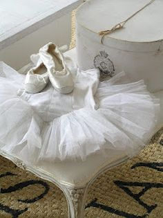 Pastels and Whites ballerina