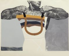 Richard Hamilton, Adonis in Y fronts, More: Tate. Exhibition Richard Hamilton Swingeing London at Villa Grisebach, Düsseldorf til 6 Dec Arte Pop, Cultura Pop, Andy Warhol, Collage Artists, Collages, Contemporary Artists, Modern Art, Contemporary Artwork, James Rosenquist
