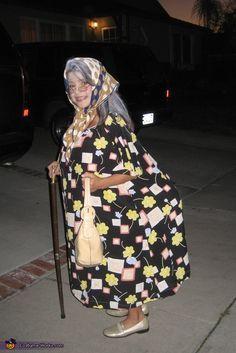 Old Woman Costume - 2012 Halloween Costume Contest