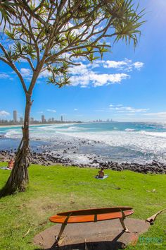 Burleigh Heads Beach, Queensland, Australia