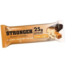 Nugo Nutrition Stronger Bar, Peanut Cluster, Ounce -- Read more info by clicking the link on the image. High Protein Bars, Protein Mix, Best Fat Burning Pills, Fat Burning Drinks, Family Bar, Peanut Clusters, Amino Acid Supplements, Vitamins For Energy