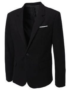 FLATSEVEN Homme Designer Waffle Fabric Blazer (BJ115) Noir, M FLATSEVEN http://www.amazon.fr/dp/B00DT55BJ8/ref=cm_sw_r_pi_dp_Jpj8tb1RZC6K6 #FLATSEVEN  #Blazer #Menswear #Mens #Fashion #mensclothes
