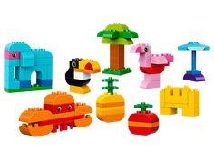 LEGO® DUPLO® Kreativ-Bauset bunte Tierwelt