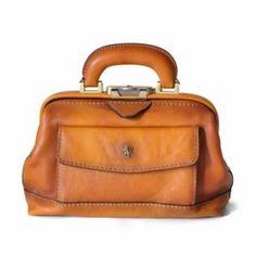 Cuir docteur sac vintage marron foncé unisexe sacoche Medical purse genuine new