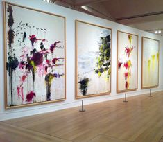 Cy Twombly, Quattro Stagioni ( A Painting in Four Parts ) Tate London Copyright 2011