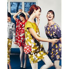 The ultimate party dress for all your seasonal shindigs. Marimekko Lumimarja Ihvi Dress -$295