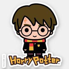 Harry Potter Anime, Cumpleaños Harry Potter, Harry Potter Stickers, Harry Potter Drawings, Harry Potter Tumblr, Harry Potter Characters, Cartoon Characters, Cartoon Stickers, Cute Stickers