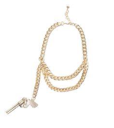Revolver Necklace - Gold   HOTTT.COM