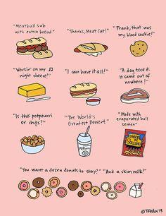30 Rock- Liz Lemon's fave foods