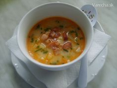 Bryndzová polievka Cheeseburger Chowder, Food And Drink, Soup, Soups