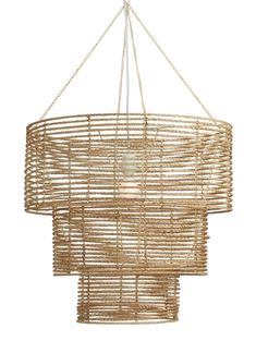 Lulu Georgia Minna Three Tiered Chandelier